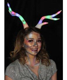 elope Light-Up Deer Antlers Multicolor LumenHorns
