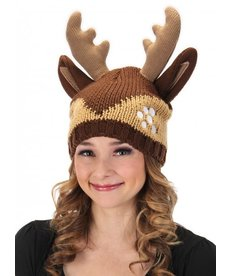 elope Deer Knit Beanie