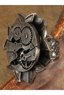 elope elope Steamworks Antique Watch Gears Ring
