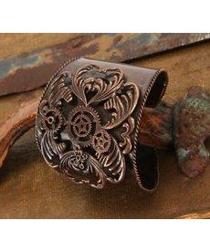 elope elope Steamworks Antique Copper Cuff