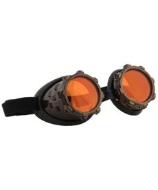 elope Steamworks CyberSteam Gold/Orange Goggles