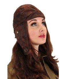 elope Steamworks Brown Aviator Hat