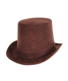 elope elope Steamworks Coachman Dark Brown Hat