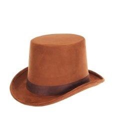 elope elope Steamworks Coachman Brown Hat