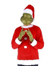 Adult Dr. Seuss The Grinch Santa Costume
