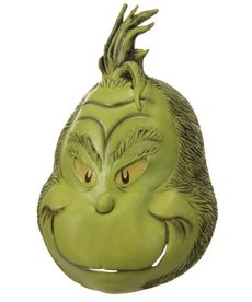 elope Adult Deluxe Dr. Seuss The Grinch Full Mask