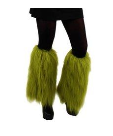 elope Dr. Seuss The Grinch Fuzzy Leg Warmers