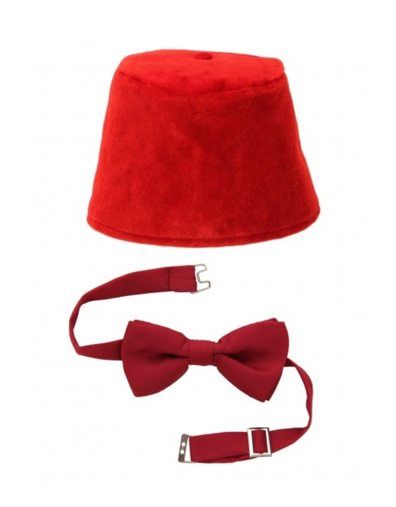 elope BBC Doctor Who Fez & Bow Tie Kit