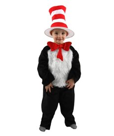 elope Toddler Dr. Seuss Cat in the Hat Deluxe Costume
