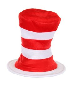 elope Dr. Seuss Cat in the Hat Velboa Plush Hat