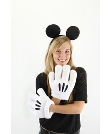 elope Disney Mickey Mouse Ears Headband & Gloves Kit