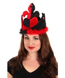 elope elope Alice in Wonderland Classic Queen of Hearts Plush Crown