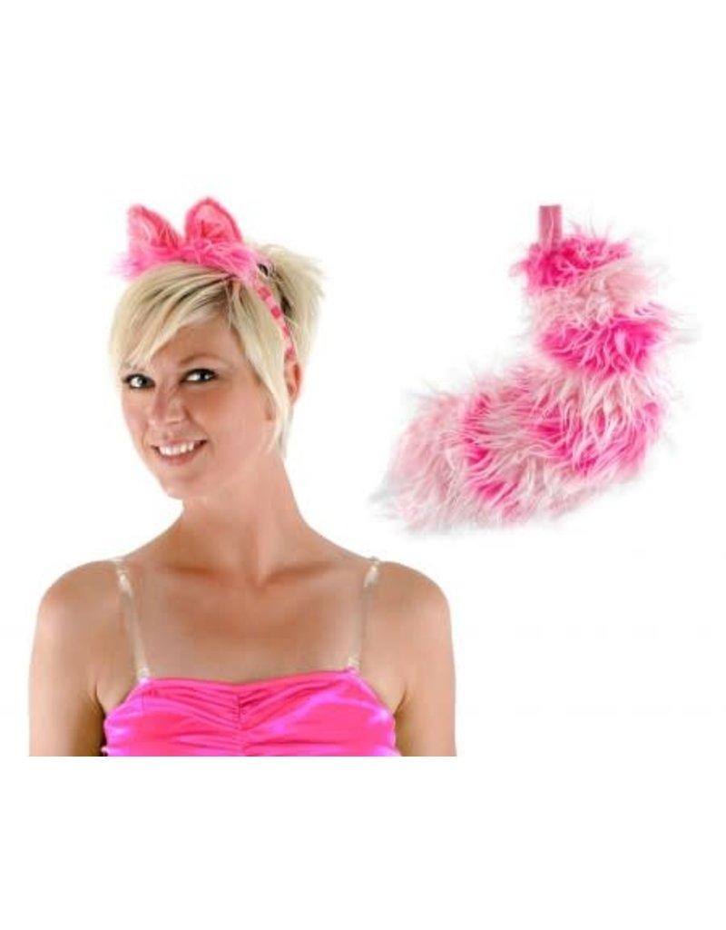 Disney Alice in Wonderland Classic Cheshire Cat Ears Headband & Tail Kit
