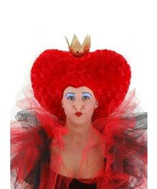 Disney Alice in Wonderland Tim Burton Red Queen Plush Hat