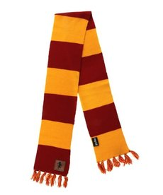 elope Harry Potter Gryffindor Patch Striped Scarf