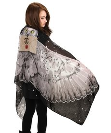elope Harry Potter Hedwig Lightweight Wing Scarf
