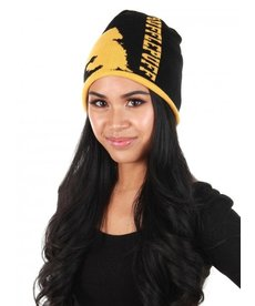 Harry Potter Hufflepuff Reversible Knit Beanie