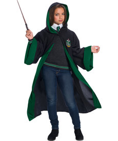 Kids Unisex Supreme Slytherin Student Costume