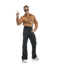 Men's Rainbow Disco Shirt