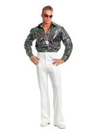 Disco Shirt (Plus): Psychedelic Swirl