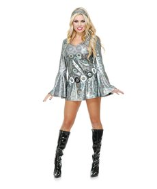 Women's Disco Queen Costume