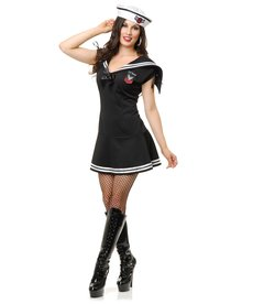 Women's WWII Sailor Girl Costume