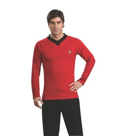 Rubies Costumes Men's Star Trek Classic Deluxe Scotty Shirt