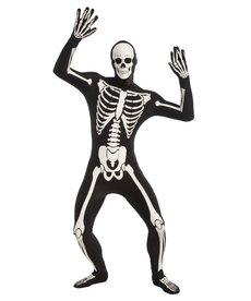 Adult Glow Skeleton Disappearing Man Bodysuit