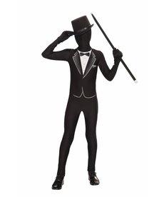 Kid's I'm Invisible: Formal Suit Bodysuit
