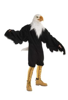 Adult Mascot: American Eagle with Mask