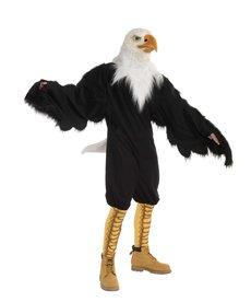 America Eagle Mascot with Latex Mask
