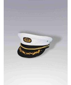 Captain Hat: White