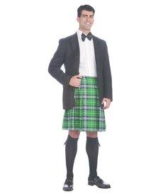 Men's Gentleman's Kilt: Green