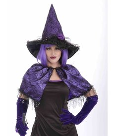 Wild'n Witchy Witch Capelet: O/S