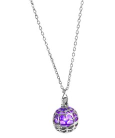 Witches & Wizards: Light Up Spider Web Necklace