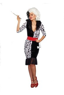 Dream Girl Adult Dalmatian Diva Costume