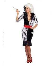 Dream Girl Adult Dalmatian Diva Costume