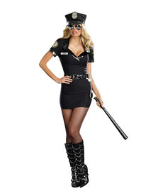 Dream Girl Women's Dirty Cop: Officer Anita Bribe Costume