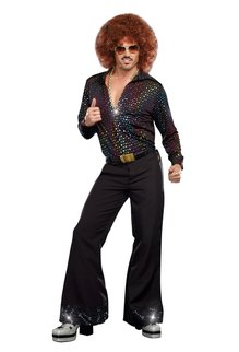 Dream Girl Men's Disco Dude Costume