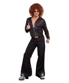 Dream Girl Men's Disco Dude Costume