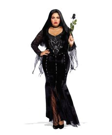 Dream Girl Women's Plus Size Frightfully Beautiful Costume