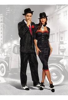 Dream Girl Men's Gangsta Costume