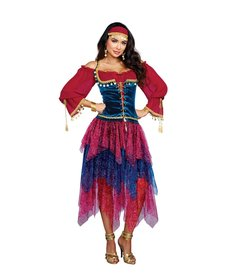 Dream Girl Women's Fortune Teller Costume