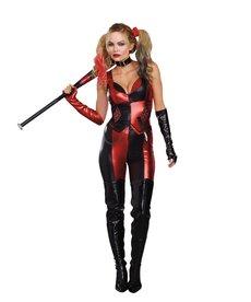 Dream Girl Adult Harlequin Blaster Costume