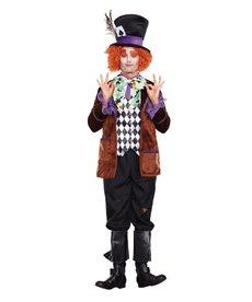 Dream Girl Men's Hatter Madness Costume