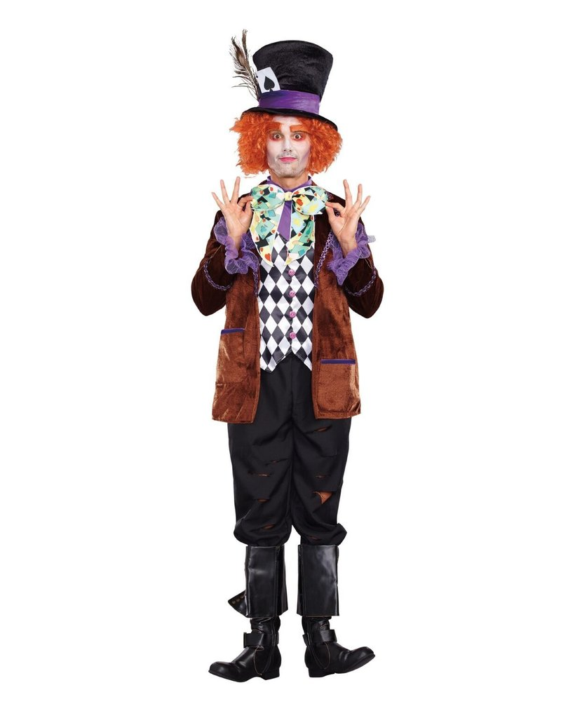 Dream Girl Men's Hatter Madness Costume