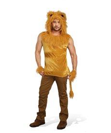 Dream Girl Men's King Of The Jungle Costume