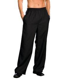Dream Girl Men's Basic Black Pants