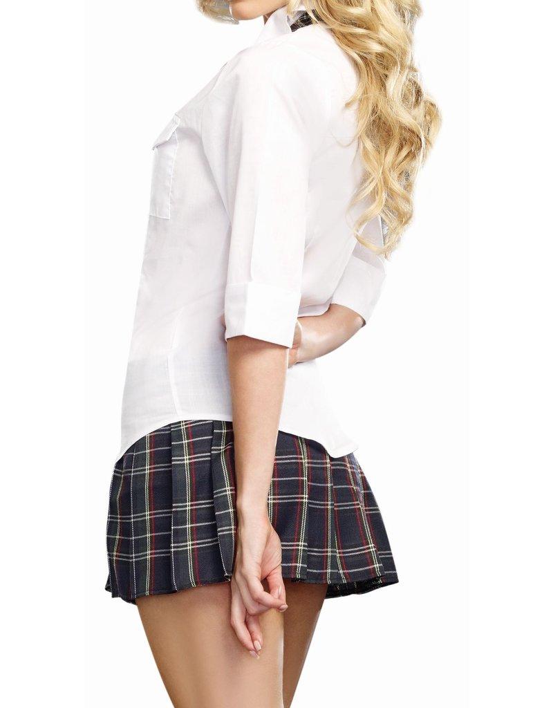 Dream Girl Adult Women's Prep School Costume