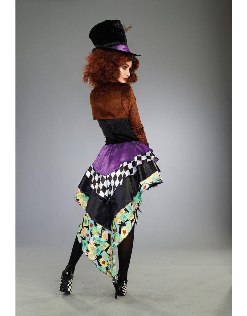 Dream Girl Women's Hatter Madness (Raving Mad) Costume